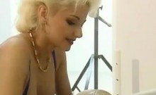 Blonde Beauty Getting Fucked Classic