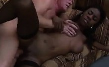 Sexy Black Girl And An Old Guy Fucking