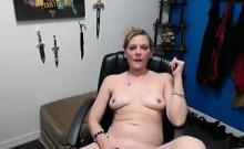 This Chick Loves Masturbating