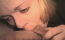 Blonde Crack Addicted Street Whore Gulps Dick Point Of View