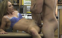 Blonde Beauty Sucking Dick And Banged On Desk In Pawn Shop