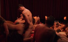 Bunch of swingers swap partners and orgy in