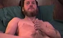 Amateur Mature Man Jimmy Jacks Off and Cums