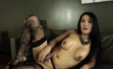 TS Beauty Fanta punks her dick to cum