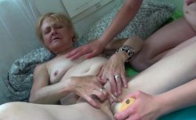 Teen And Granny Have Some Self Love