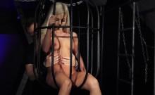 Exqusite barbie girl bdsm imprisoned