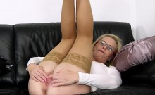 Slutty czech girl spreads her soft vagina to the extreme