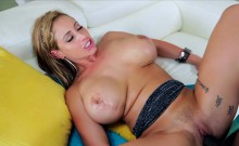 Deep throater and big tits Eva Notty gets her pussy banged