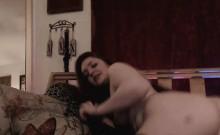 Sexy Hottie Babe Masturbating on Cam