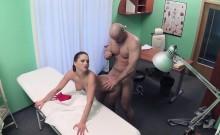 Naughty nurse fucks married patient