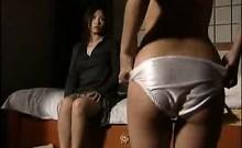 Striking Oriental girls bring their wild lesbian fantasies