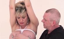 Unfaithful english mature lady sonia reveals her massive nat