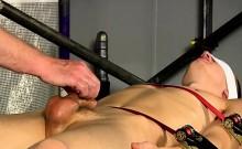 Male bondage cum shots gay xxx One Cumshot Is Not Enough