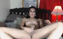 Hot Slut asian Shemale Loves to Jerks Off