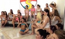 Brasilian Lesbian Domination 40 Gals Came Over To Soiree And