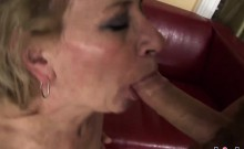Sexy Granny Receives A Messy Creampie