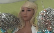 Super Doll LI Cheerleader Fucking!