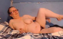 BBW Sandra with huge boobs