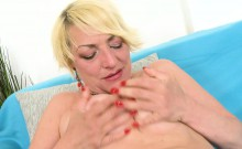 Europemature Horny Amanda Playing Alone With Pussy