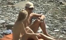 Buttplug Outdoor Public Beach Orgasm