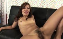 Nasty Brunette Rides Her Horny Lover