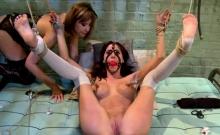 Seductive babe likes to get pleasured