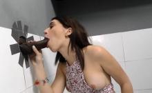 Horny Teen Gives Head