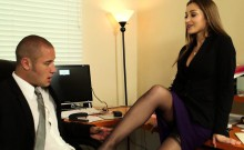 Office babe Dani Daniels take cock