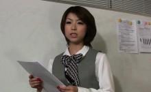 Hot office girl Tsubaki reveals her new dirty business plan