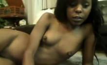 Cute Ebony Webcam Slut