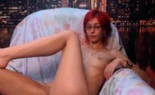Redhead Webcam Girl Chatting Naked