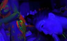 Teen Sluts Suck Big Cocks At A Glow Party