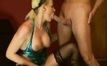 Milf loves to taste her butt that is own