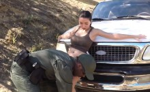 Cop dp Latina Babe Fucked By the Law