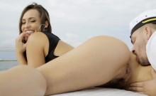 TeenCurves- Big Ass Kelsi Monroe Fucked On Boat