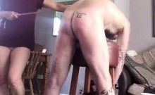 My cruel femdom wife tormenting my ass