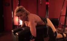 Cheating english mature lady sonia shows off her gigantic ti