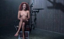 Submissive redhead got slammed and humiliated