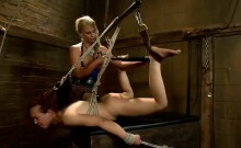 Kinky girls enjoy some hardcore BDSM