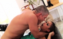 Ebony babe wants some hard anal