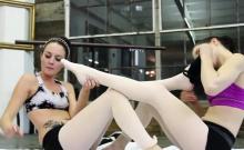 Ashley Stone has been training Jenna J Ross in the art...