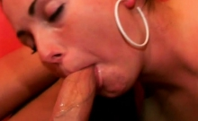 Chick truly loves to swallow her lover's penis