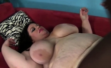 Large BBW Takes On Massive Black Cock