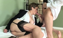 Unfaithful english milf lady sonia pops out her giant natura