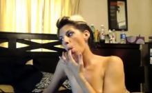 Webcam Couple Facial Show