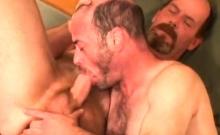 Mature Amateurs Dan And Dillon With Dildo
