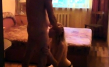 Amateur lover facial russian wife