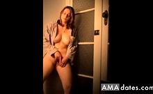 Adorable Gf Cumming In Her Pj's