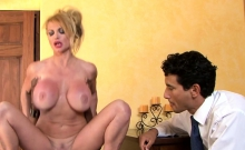 Cuckolding Milf Riding Bbc In Front Of Hubby