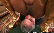 Pussy demands worship